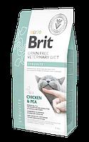 Сухой корм Brit GF VetDiets Cat Struvite 34/16 (для кошек при заболевании мочекаменной болезни), 0.4 кг