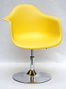 Кресло модерн пластиковое Leon  CH- Base  ,  желтый 12