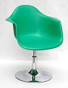 Кресло модерн пластиковое  Leon  CH- Base  ,  зеленый 47