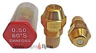 Форсунка Danfoss 0.5 Usgal/h 60° S (1.87 kg/h)  030F6908. Для дизельных горелок.