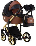 Дитяча універсальна коляска 2 в 1 Adamex Luciano Polar Gold Y800