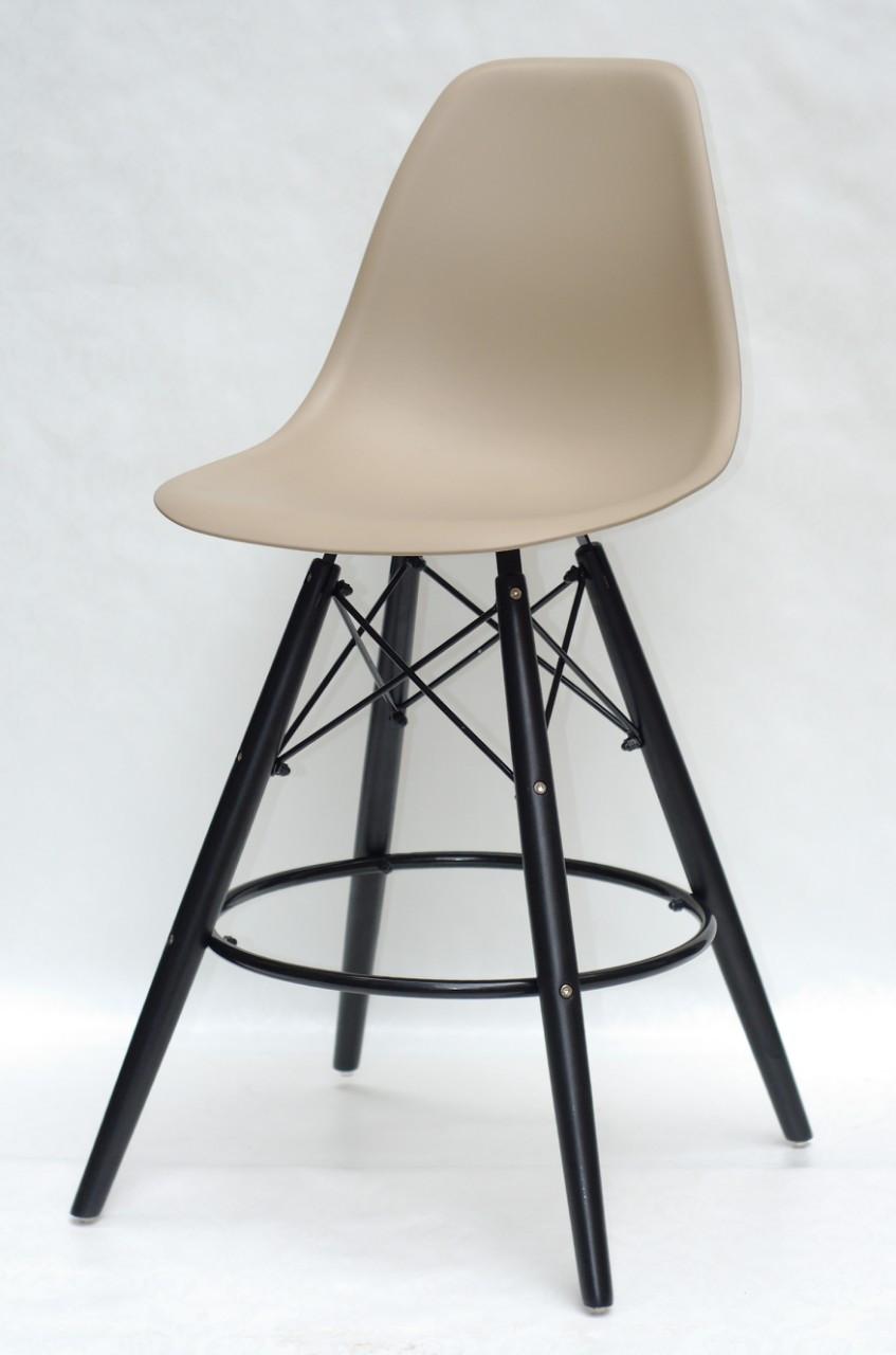 Барний стілець Nik BK Eames, бежевий