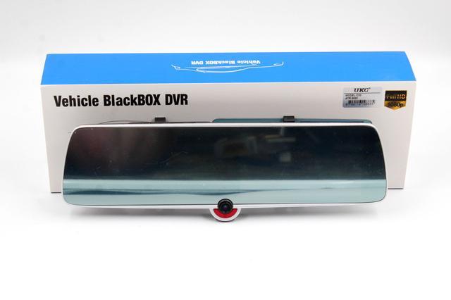 Автомобильный видеорегистратор DVR C33 с тремя камерами