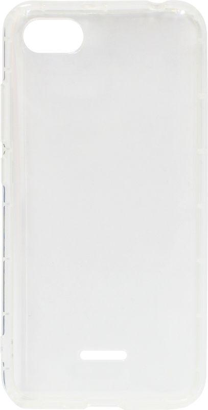 Силикон Xiaomi Redmi6A white Antishock