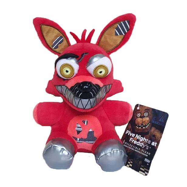 Оригинальная плюшевая игрушка Кошмарный Фокси,  23см,  5 ночей с Фредди. Фнаф