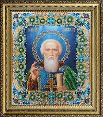 Ікона Святий Сергій Радонезький. Набір для вишивання бісером