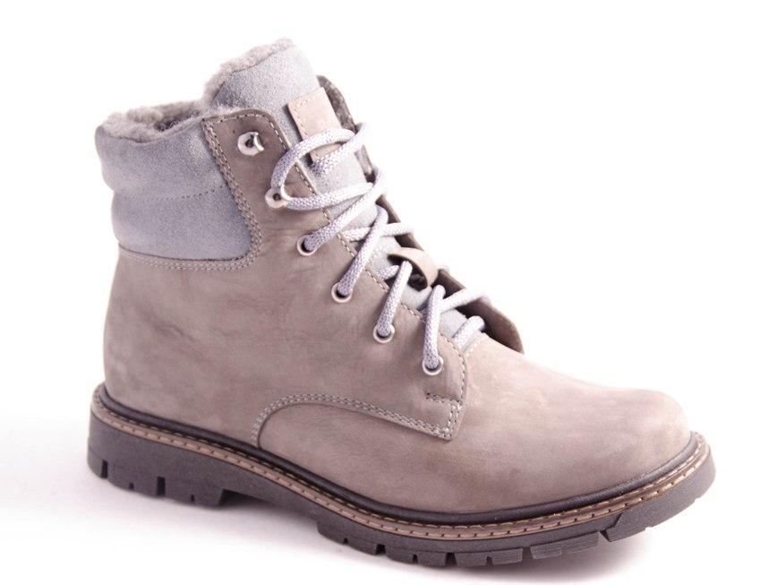 Ботинки подростковые серые Romani 5220613/2 р.35-39