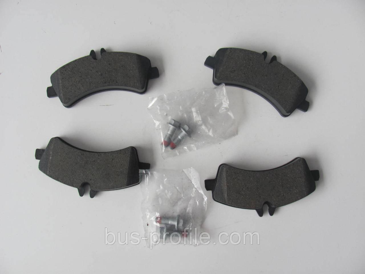 Колодки тормозные задние MB Sprinter 509-519 CDI/VW Crafter 50 (спарка) — FTE — BL2011A4