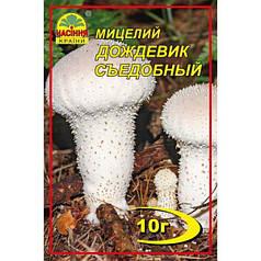 Мицелий гриба Дождевик съедобный , 10 гр