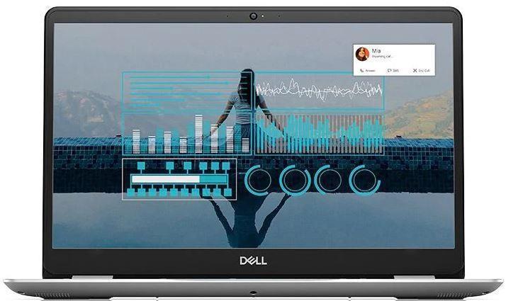 Ноутбук Dell Inspiron 5584 15.6FHD AG/Intel i3-8145U/4/256F/int/Lin/Silver