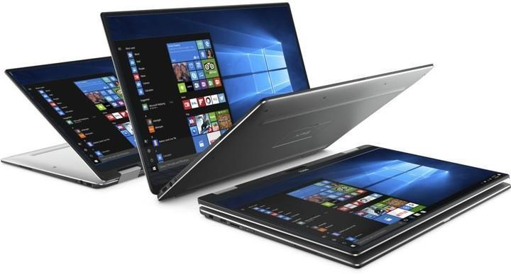 Ноутбук Dell XPS 13 (9365) 13.3FHD Touch/Intel i5-8200Y/8/256F/int/W10P/Silver