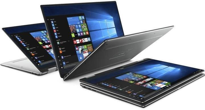 Ноутбук Dell XPS 13 (9365) 13.3FHD Touch/Intel i5-8200Y/8/256F/int/W10P/Silver, фото 2