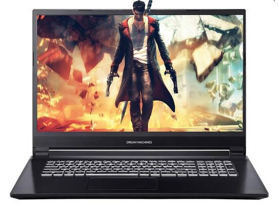 Ноутбук Dream Machines G1660Ti-17 17.3FHD IPS AG/Intel i7-9750H/16/480F/NVD1660Ti-6/DOS, фото 2