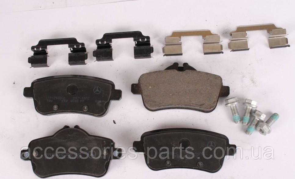 Колодки тормозные задние Mercedes-Benz CLA C117 / GL X166 / ML W166 Новые Оригинальные