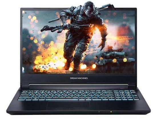 Ноутбук Dream Machines RG2060-15 15.6FHD IPS AG/Intel i7-9750H/16/480F/NVD2060-6/DOS, фото 2