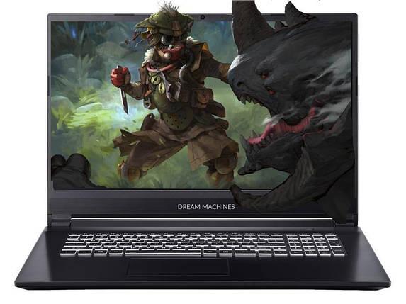Ноутбук Dream Machines RG2060-17 17.3FHD IPS AG/Intel i7-9750H/16/1024F/NVD2060-6/DOS, фото 2