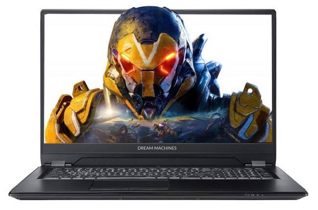 Ноутбук Dream Machines RS2080Q-17 17.3FHD IPS 144Hz AG/Intel i7-9750H/16/480F/NVD2080Q-8/DOS, фото 2