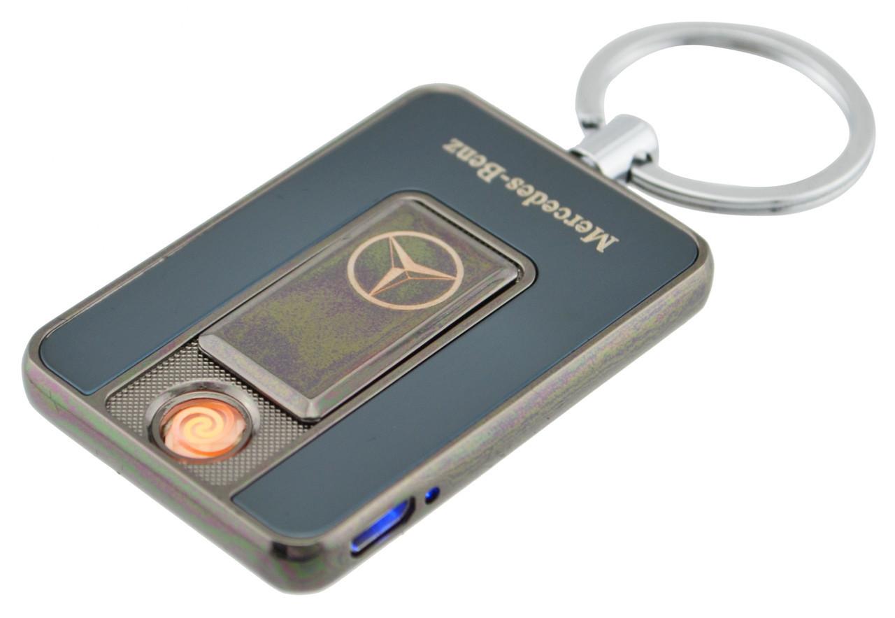 Электроимпульсная спиральная зажигалка брелок USB электро аккумулятор