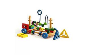 Деревянная игрушка Центр развивающий MD 1241-2