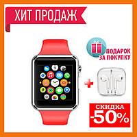 Умные часы uwatch a1 Turbo смарт часы А1 Smart Watch A1 и наушники в подарок
