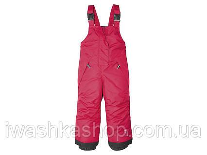 Зимние лыжные штаны, полукомбинезон для девочек 1 - 2 года, р. 86 - 92, Lupilu