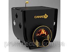 Печь булерьян с плитой Canada Тип 00 + стекло и защитный кожух