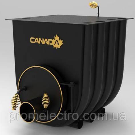 Печь булерьян с плитой Canada Тип 02, фото 2