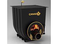 Печь булерьян с плитой Canada Тип 02 + стекло