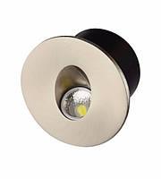 """Світильник сходовий LED """"YAKUT"""" (Білий,Хром)"""