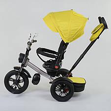 Трехколесный велосипед best trike 4490 желтый c поворотным сиденьем, фото 2