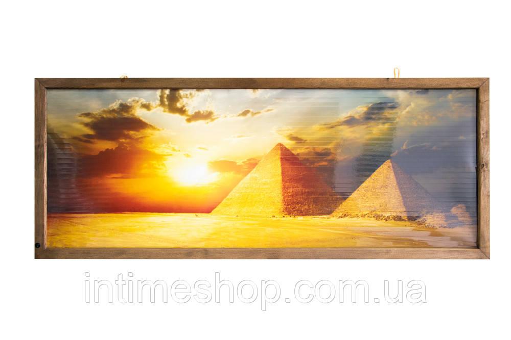 🔝 Пленочный настенный обогреватель картина, Трио VIP Египет, инфракрасный обогреватель Трио   🎁%🚚