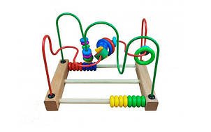 Деревянная игрушка Центр развивающий MD 1241-3