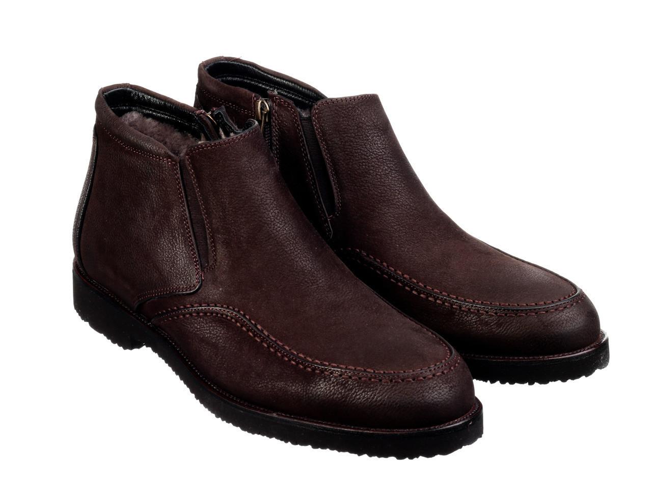 Ботинки Etor 16072-318 45 коричневые