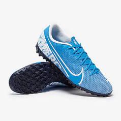 Сороконожки Nike MercurialX Vapor 13 Academy TF AT7996-414 (Оригинал)