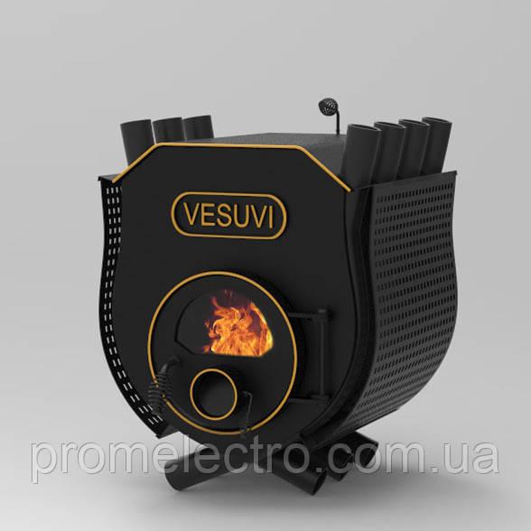 Печь булерьян с плитой Vesuvi Тип 00 + стекло и защитный кожух
