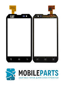 Сенсор (Тачскрин) для телефона Caterpillar (Cat) B15 | B15Q (Черный) Оригинал Китай