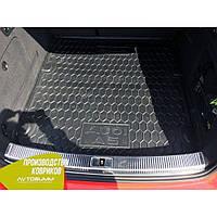 Авто коврик в багажник Audi A5 (B8) Sportback 2009- (Avto-Gumm) Автогум