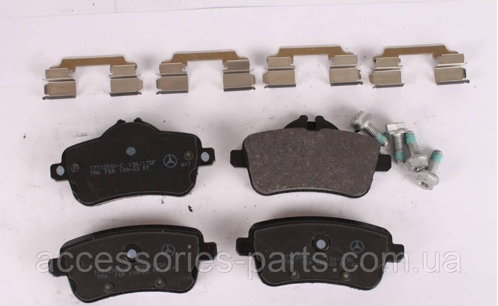 Колодки тормозные задние Mercedes-Benz GL X166 / ML W166 AMG Новые Оригинальные