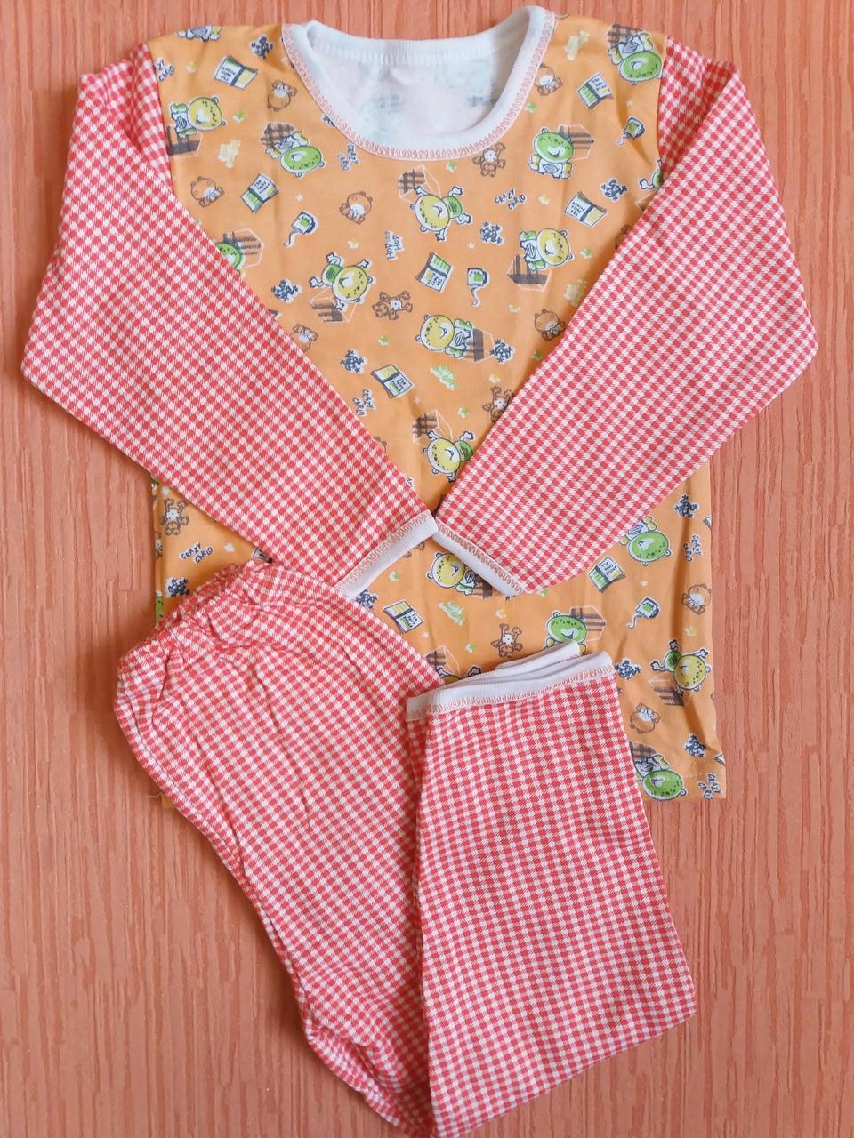 Пижамы детские на байке хлопок Украина. Размер 28.От 4шт по 62грн