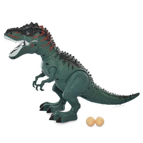 Игрушка для детей Динозавр KQX-02 45 см ходит несет яйца подвижные детали