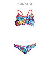 Раздельный купальник для девочек Funkita Aloha from Hawaii FS02