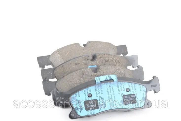 Колодки тормозные передние Mercedes-Benz ML/GLE W166/C292 / GL/GLX X166 Новые Оригинальные