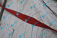 Лента окантовочная репсовая/10мм/красная/арт. 9952, фото 1