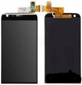 Дисплей (экран) для LG VS987 G5 с сенсором (тачскрином) черный Оригинал