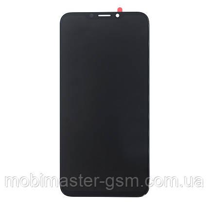 Дисплейный модуль Meizu X8 black, фото 2