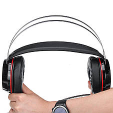 Наушники проводные G6 игровые с микрофоном, фото 3