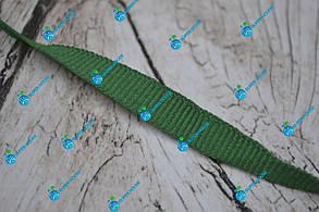 Лента окантовочная репсовая/10мм/зеленая/арт. 9952