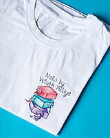 Женская медицинская футболка с индивидуальным рисунком ручной работы, фото 1