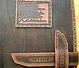 Кожаный блокнот ежедневник ручной работы винтажный индивидуальный заказ ежедневник кожаный с надписью., фото 2