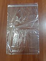 Пакет упаковочный п/э 30мкр с зип локом 22*31 (уп 100шт)